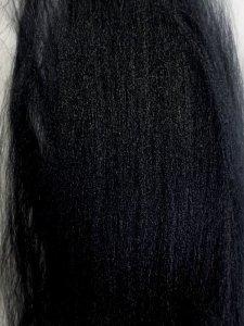 画像1: ブレンド素材「ブラック染色 竹ファイバー」 (1)