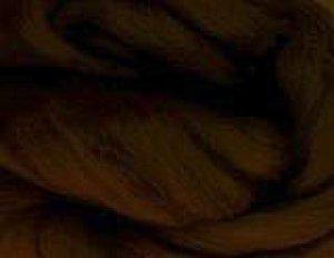 画像1: メリノ染色羊毛メランジ「しゅろちゃ」  (1)