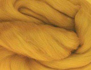 画像1: NZカラー羊毛「ゴールドブラウン」10g (1)