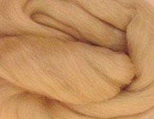 画像1: メリノ染色羊毛メランジ「くるみ 」 (1)