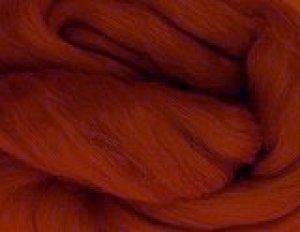 画像1: NZ染色羊毛「マロニエブラウン」 (1)