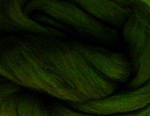 画像1: NZ染色羊毛「アイビーグリーン」 (1)