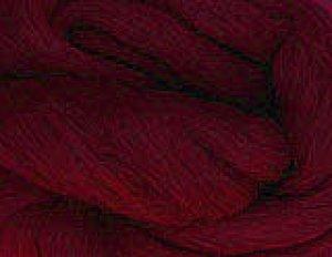 画像1: NZ染色羊毛「アズキレッド」 (1)