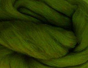 画像1: NZ染色羊毛「セージグリーン」 (1)