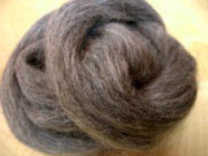 画像1: ナチュラルカラー羊毛 「NZミッド」  (1)
